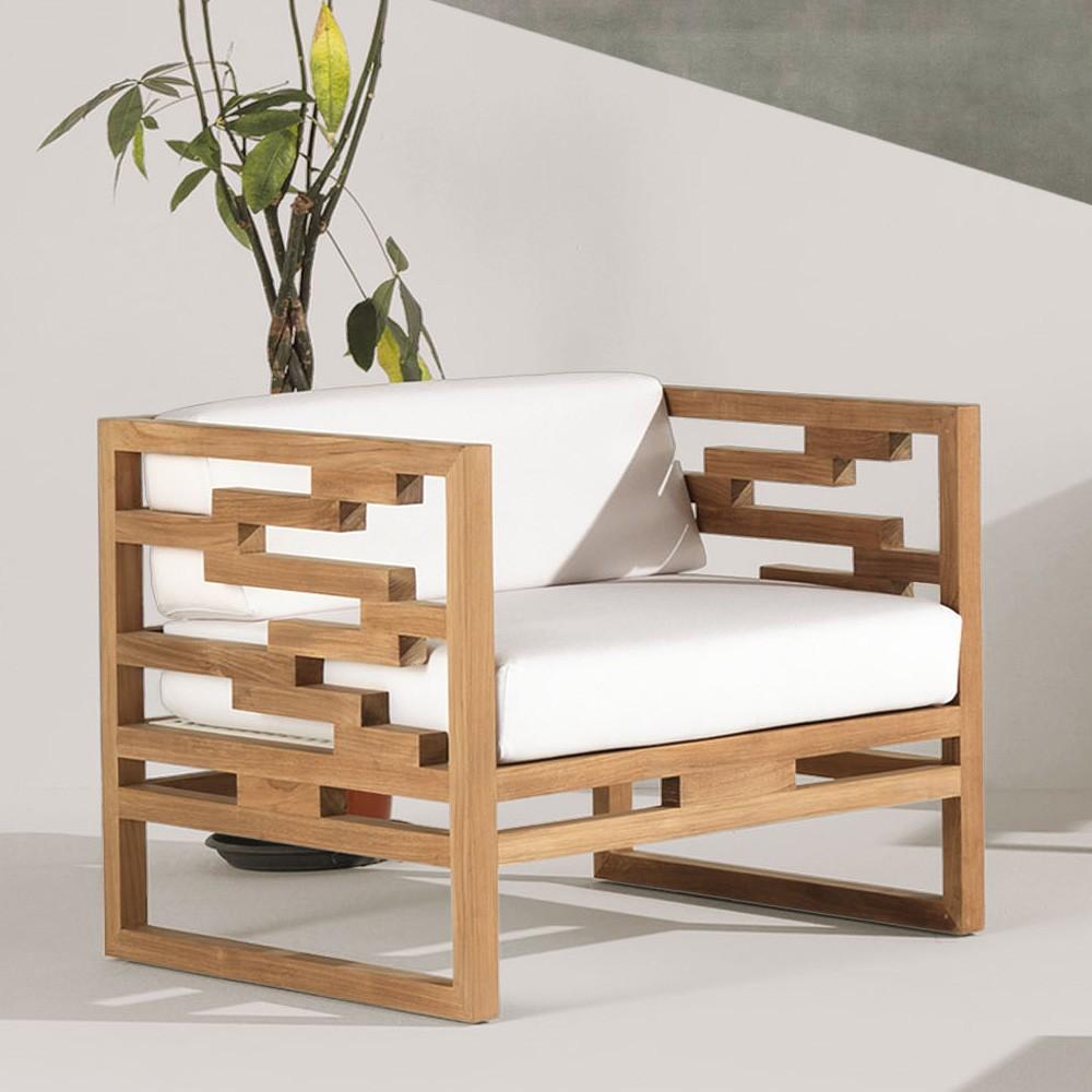 Kontiki Lounge Chair 6420N from Emu
