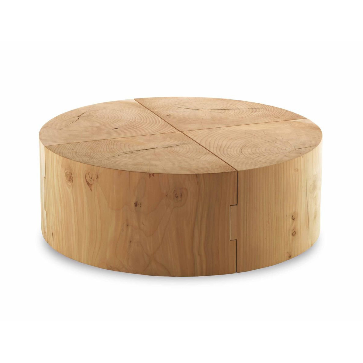 Eco Block end table from Riva 1920, designed by C.R. & S. Riva 1920