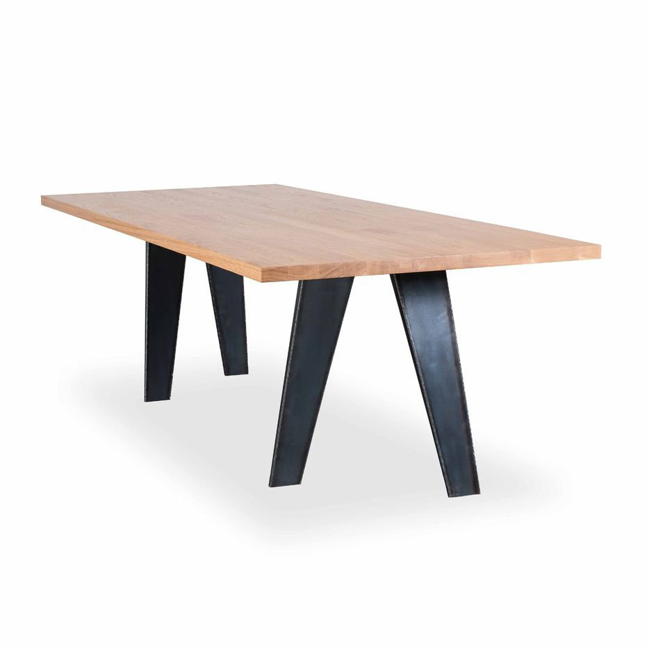 Easel dining table from Riva 1920