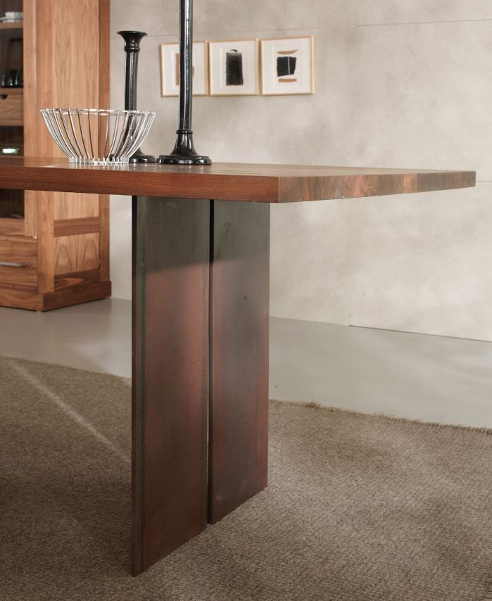 Natura Squared dining table from Riva 1920, designed by C.R. & S. Riva 1920