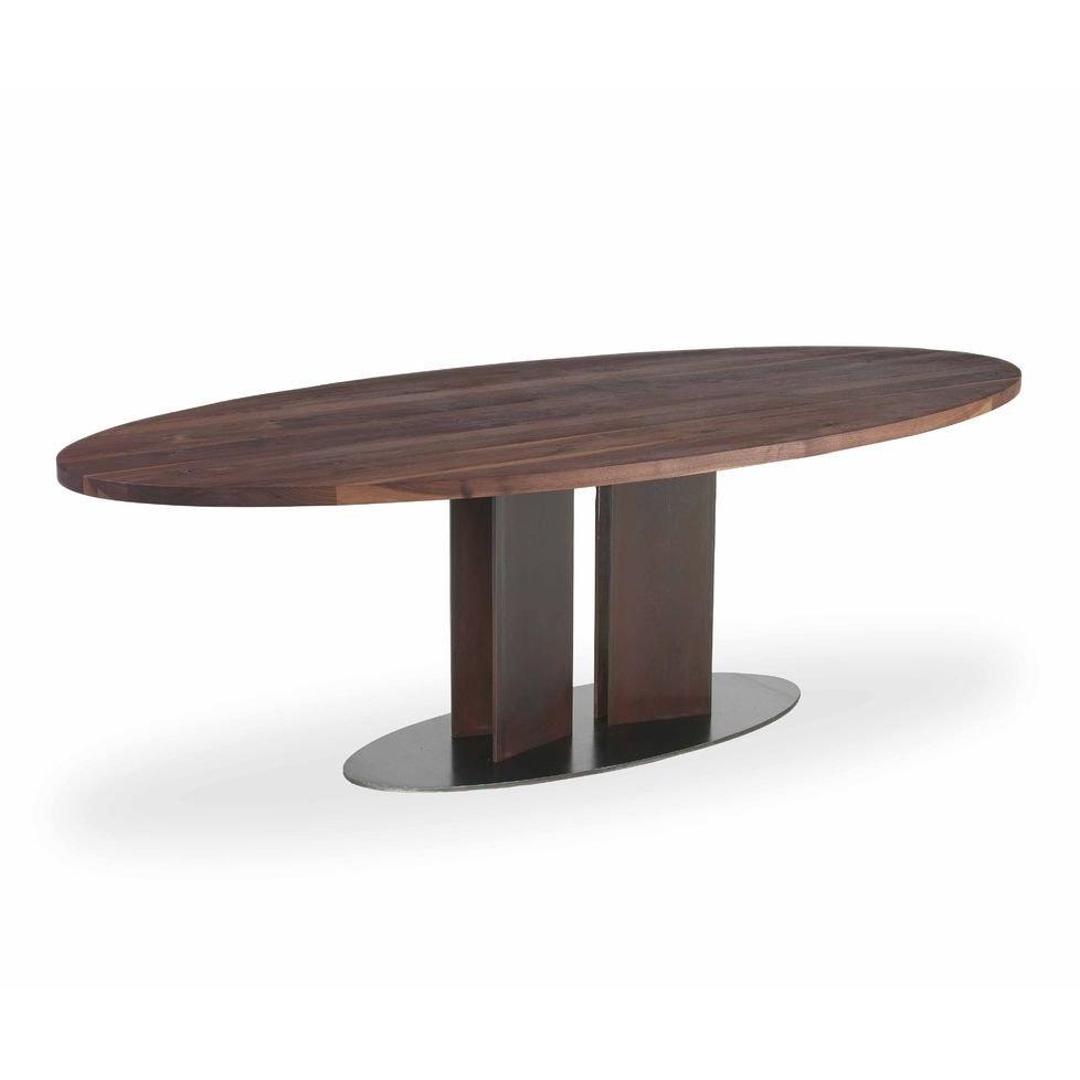 Natura Tondo & Ovale  coffee table from Riva 1920, designed by C.R. & S. Riva 1920