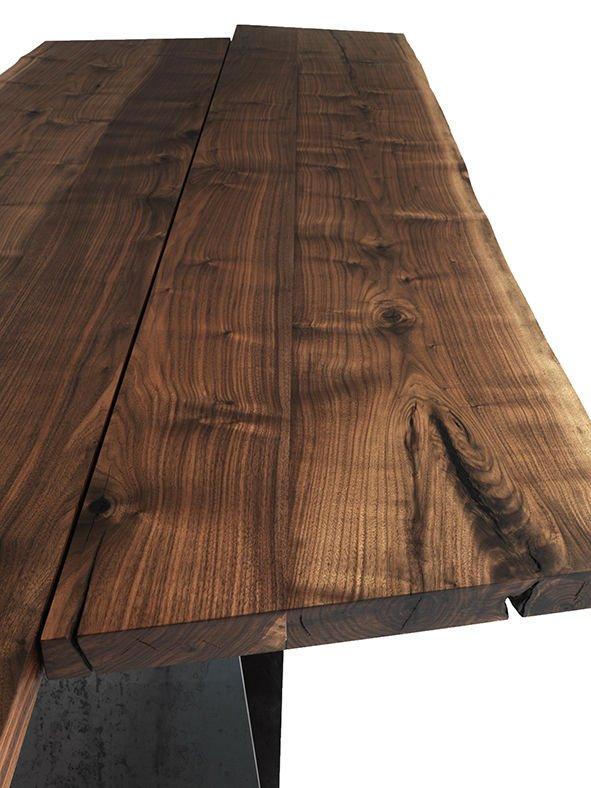 Bedrock Plank B dining table from Riva 1920