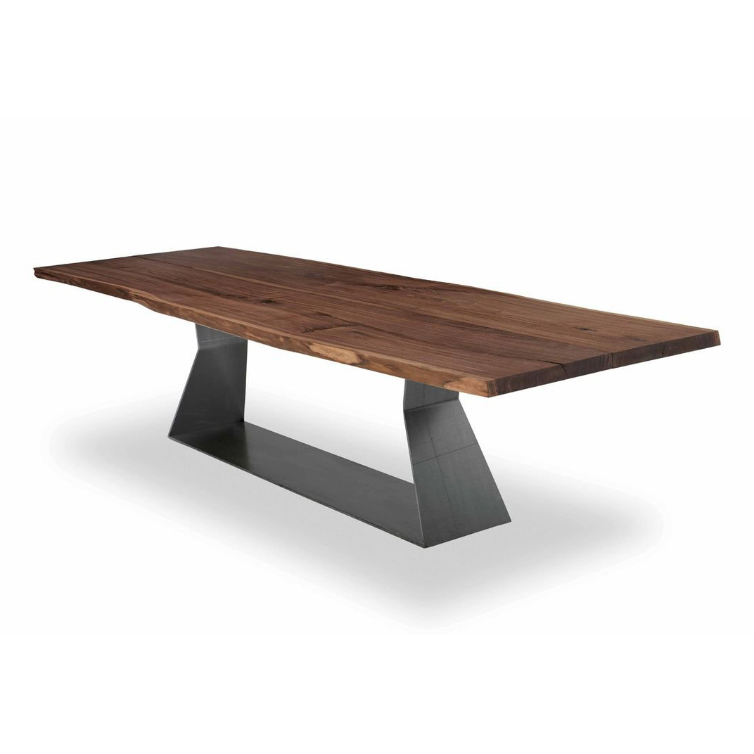 Bedrock Plank C dining table from Riva 1920, designed by Terry Dwan