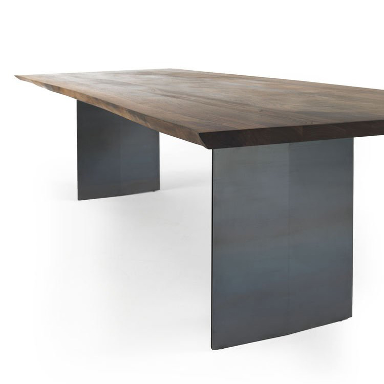 Sky Natura Natual Sides dining table from Riva 1920, designed by C.R. & S. Riva 1920