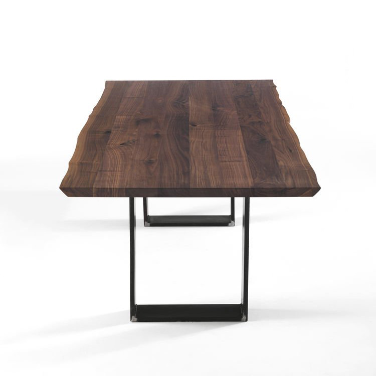 Newton Natural Sides dining table from Riva 1920, designed by C.R. & S. Riva 1920