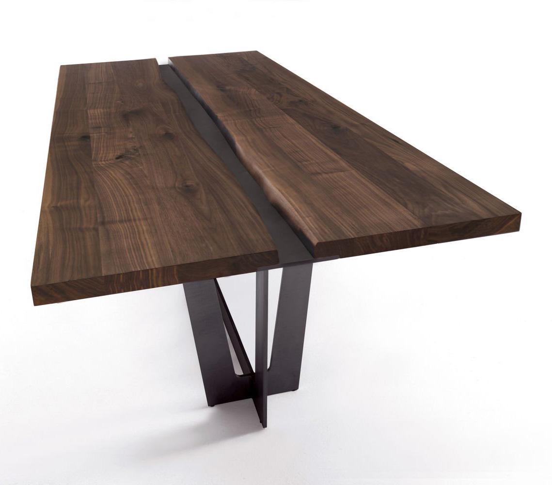 Rialto Table dining from Riva 1920, designed by Giuliano & Gabriele Cappelletti