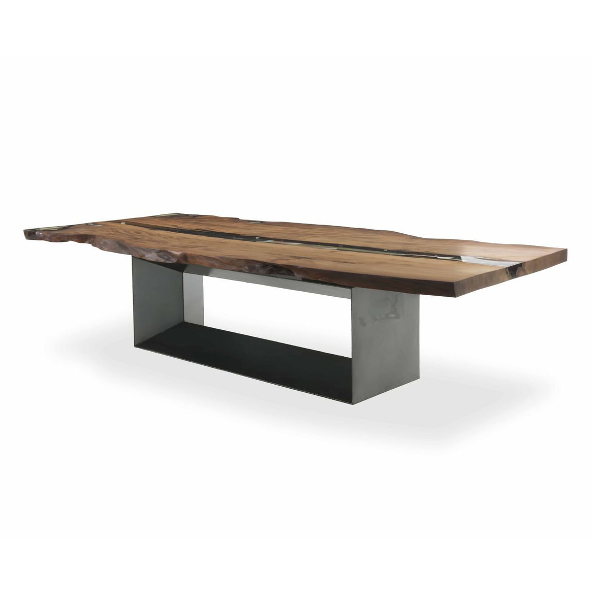 Cube Kauri  dining table from Riva 1920