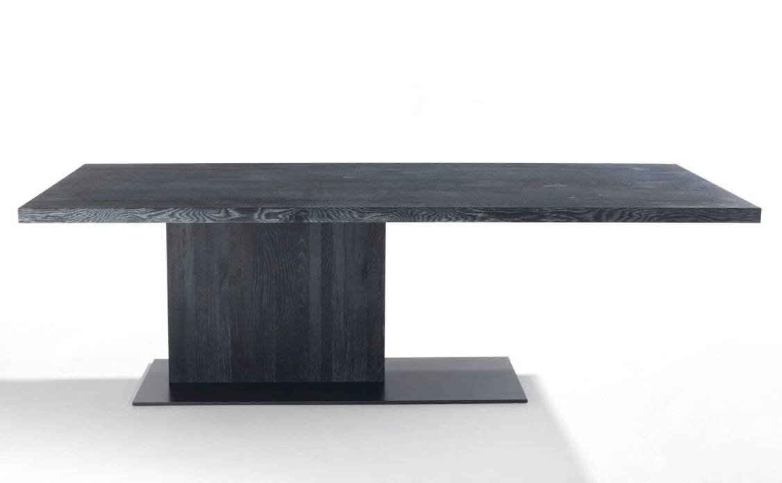 Liam Wood dining table from Riva 1920