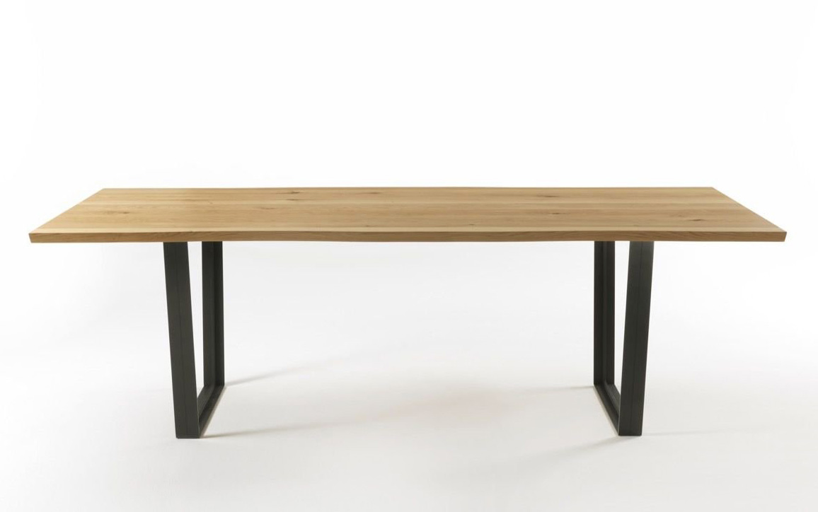 Easy Natural Sides dining table from Riva 1920