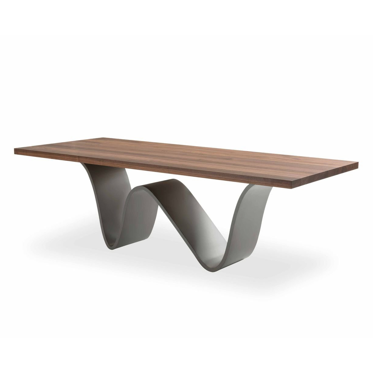 Bree E Onda dining table from Riva 1920