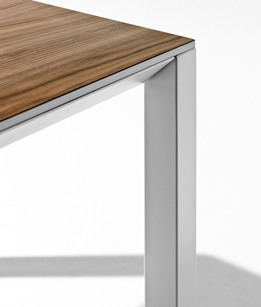 Lux, dining table from Horm