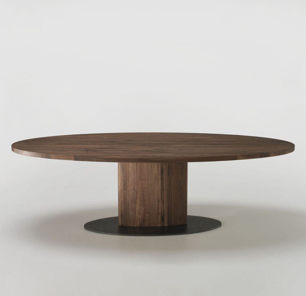 Parsifal Ovale dining table from Riva 1920