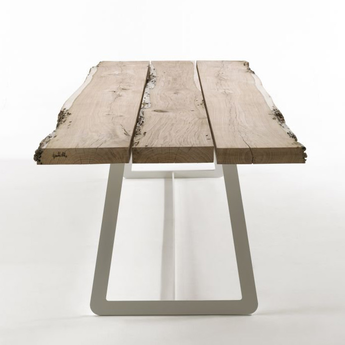 Calle dining table from Riva 1920, designed by Aldo Spinelli