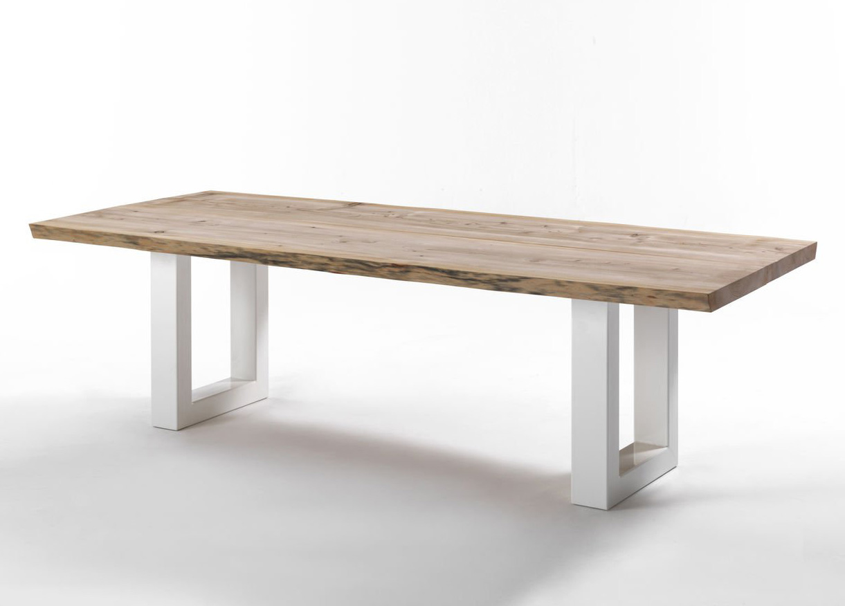 Sherwood Natural Sides dining table from Riva 1920, designed by C.R. & S. Riva 1920