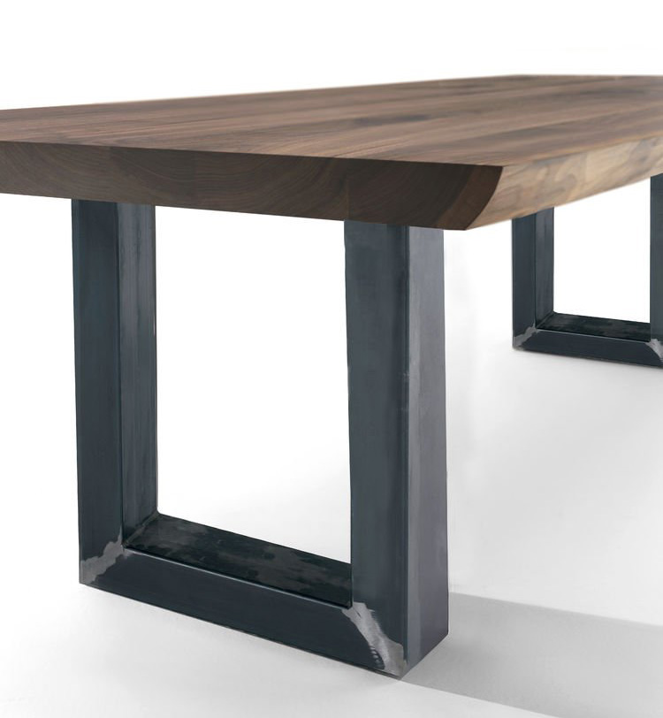 Sherwood Extra Natural Sides dining table from Riva 1920, designed by C.R. & S. Riva 1920