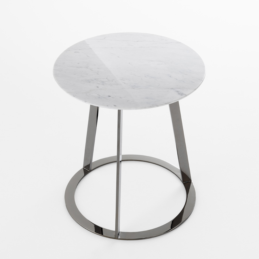 Albino end table from Horm, designed by Salvatore Indriolo