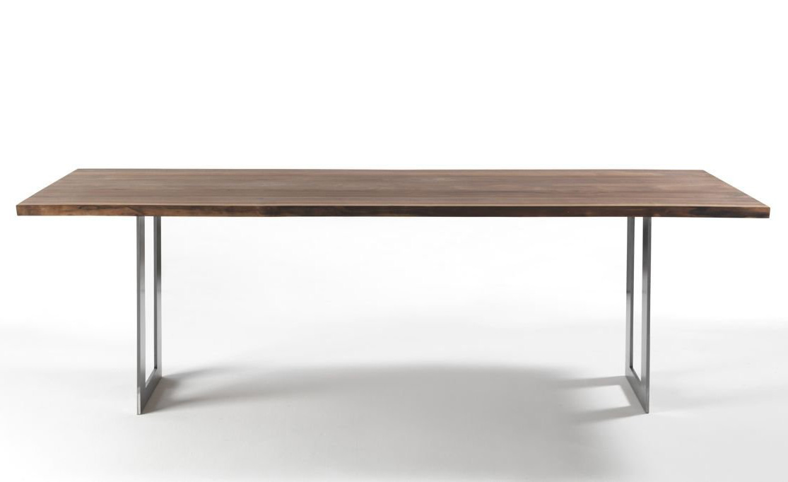Darwin Natural Sides dining table from Riva 1920, designed by C.R. & S. Riva 1920