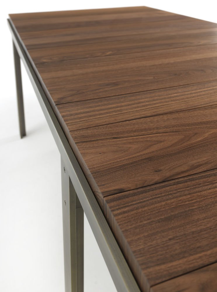 Touch dining table from Riva 1920, designed by Carlo Colombo