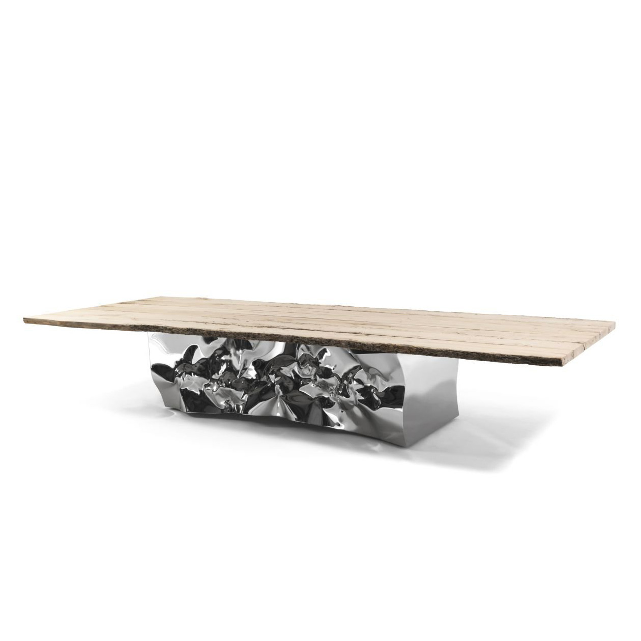 Riflessi In Laguna dining table from Riva 1920, designed by Helidon Xhixha