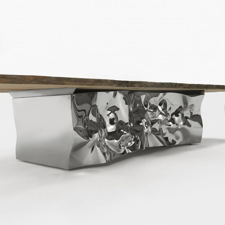 Riflessi In Laguna dining table from Riva 1920