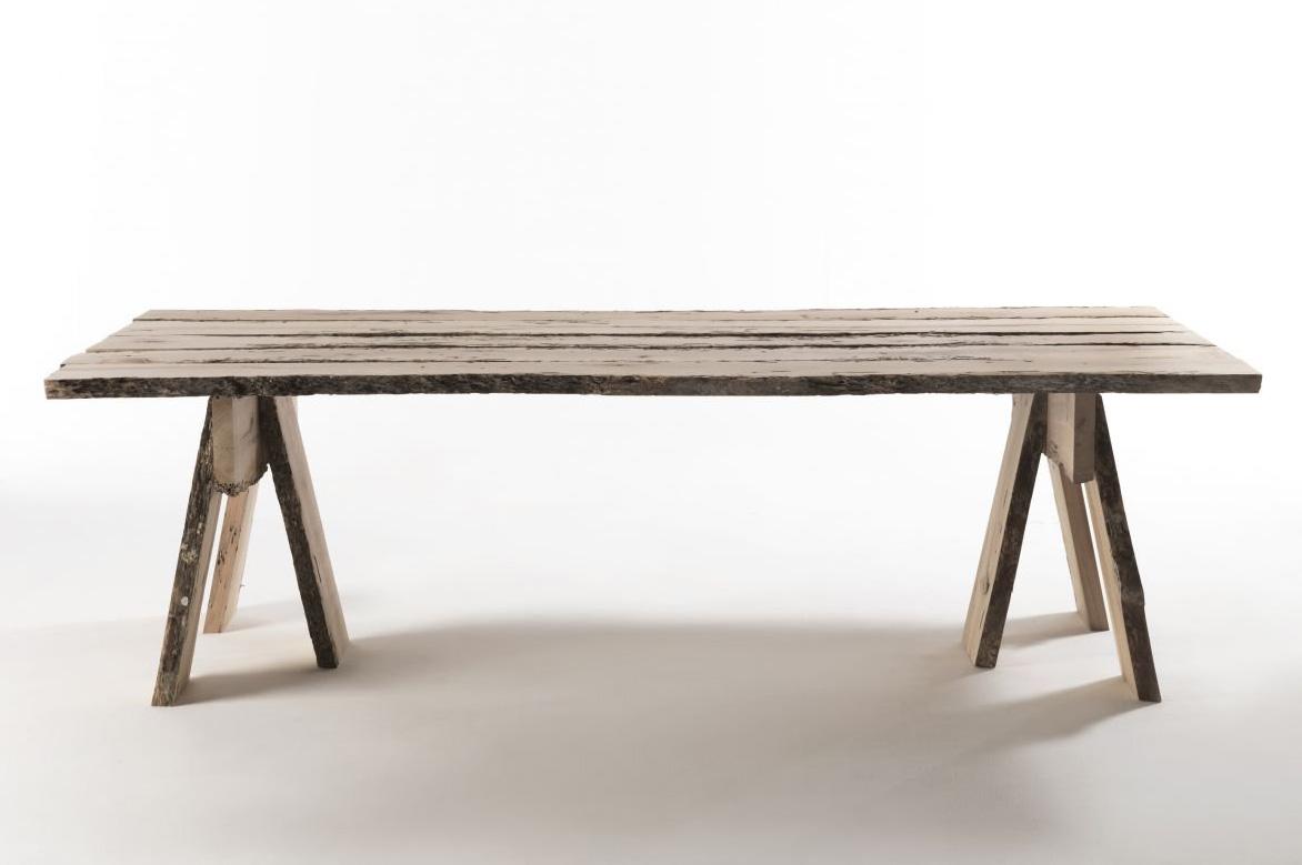 Frammenti Di Wabi-Sabi dining table from Riva 1920, designed by Aldo Cibic