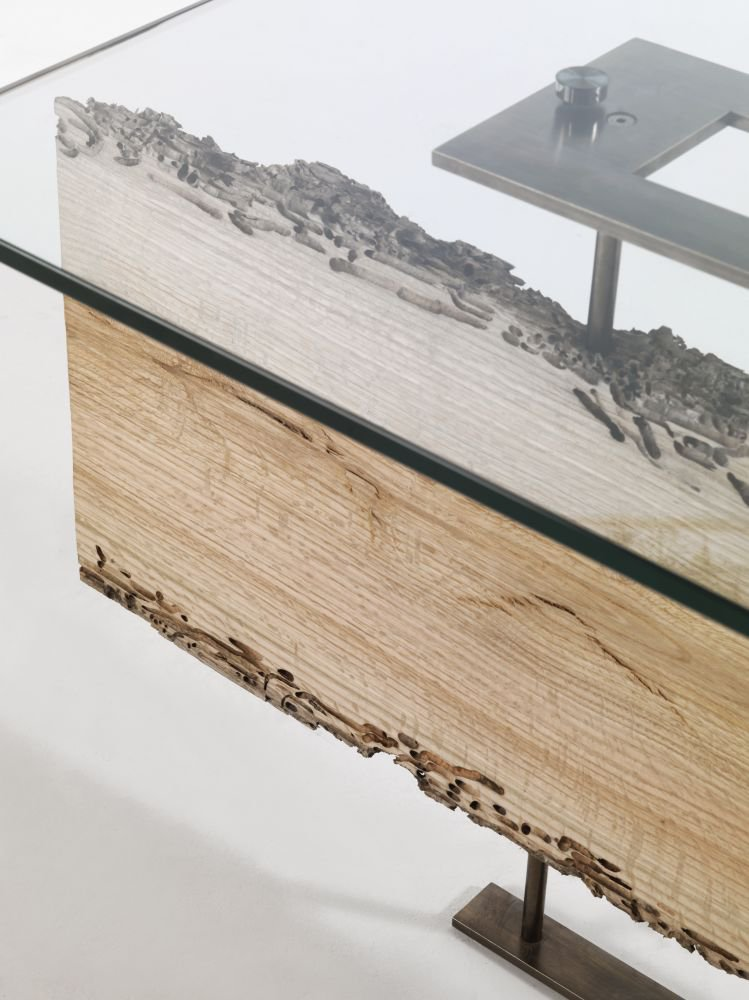 Cornice dining table from Riva 1920