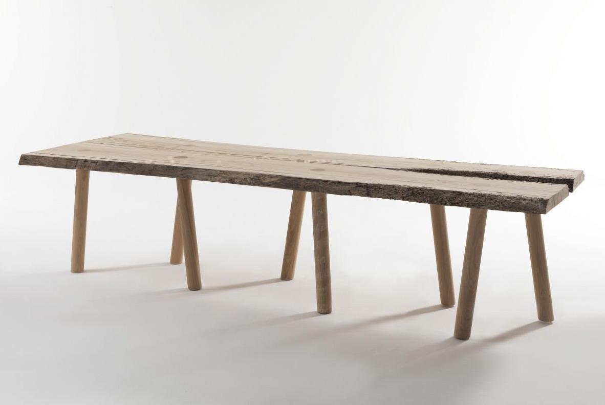 Briccole Venezia dining table from Riva 1920, designed by Matteo Thun