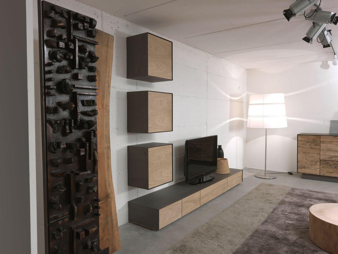 Rialto Wall Unit 2013 cabinet from Riva 1920, designed by Giuliano & Gabriele Cappelletti