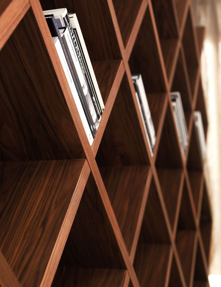 Broadway bookcase from Riva 1920