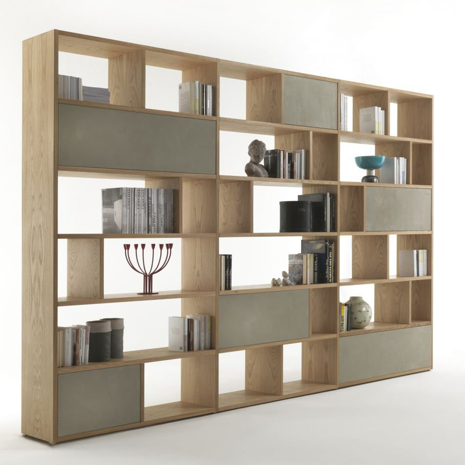 Password Bookcase from Riva 1920