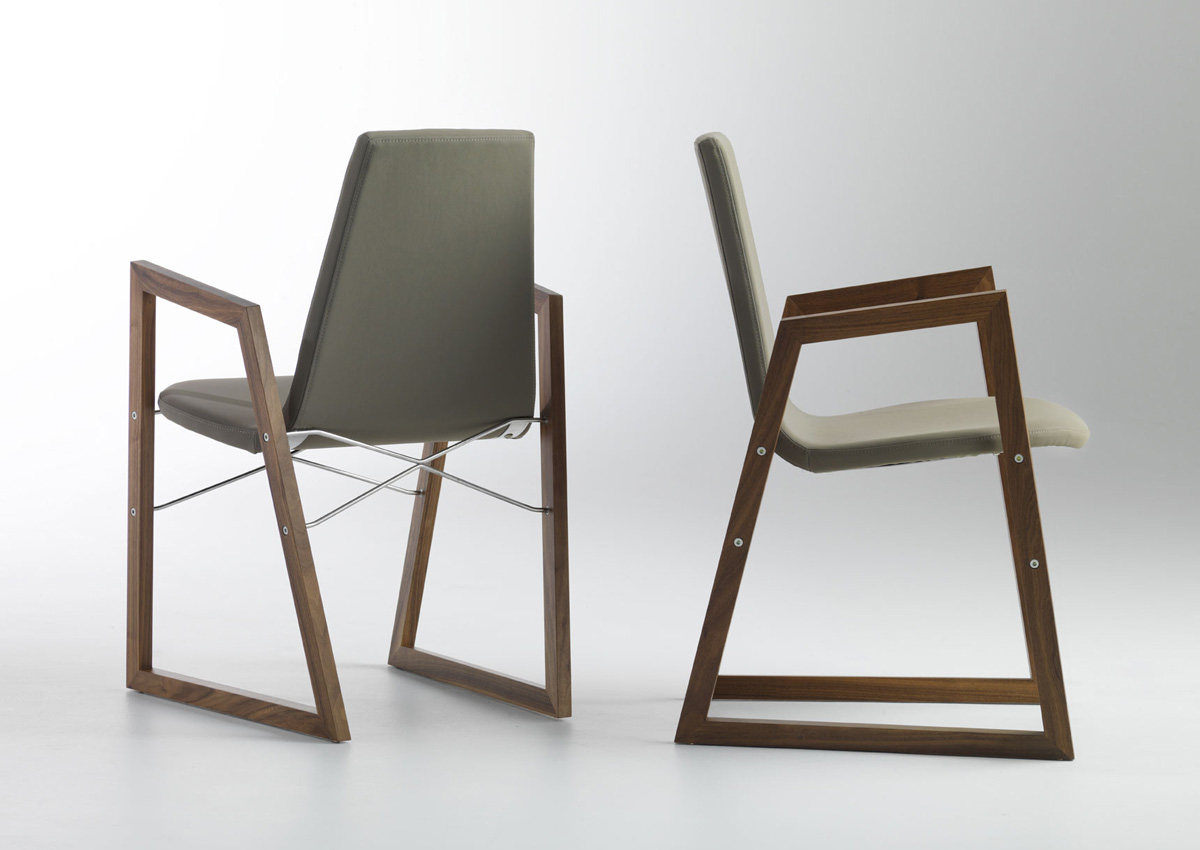 Ray Armchair from Horm, designed by Orlandini Design