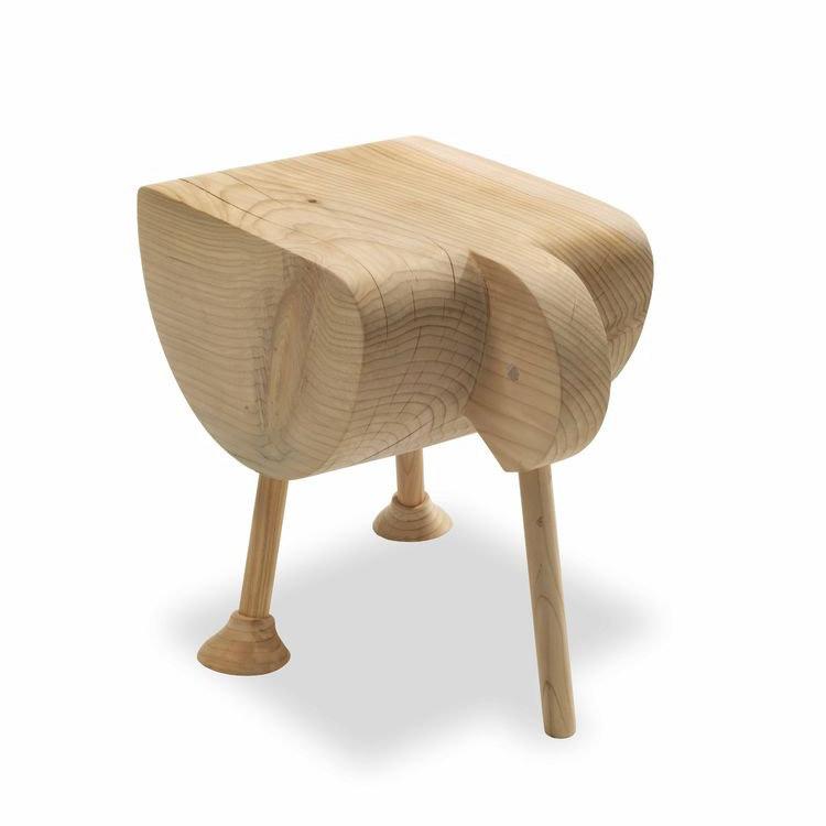 Pio stool from Riva 1920