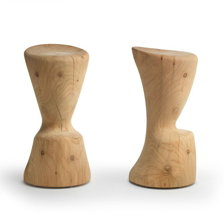 Coppa stool from Riva 1920, designed by C.R. & S. Riva 1920
