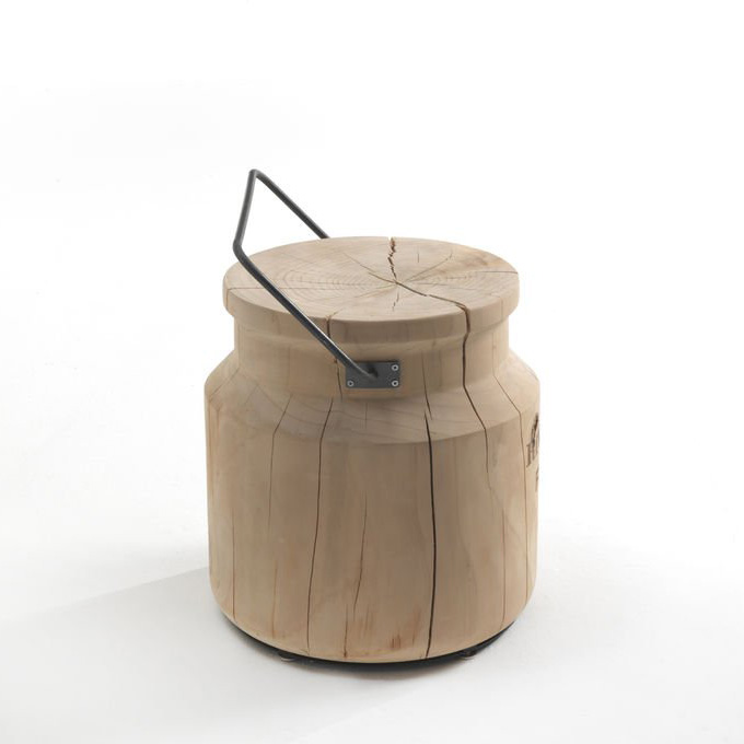 Secchiolatte stool from Riva 1920