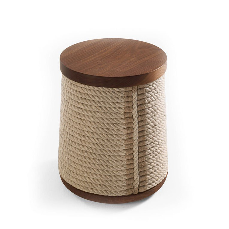 Rope Stool  from Riva 1920, designed by Jamie Durie
