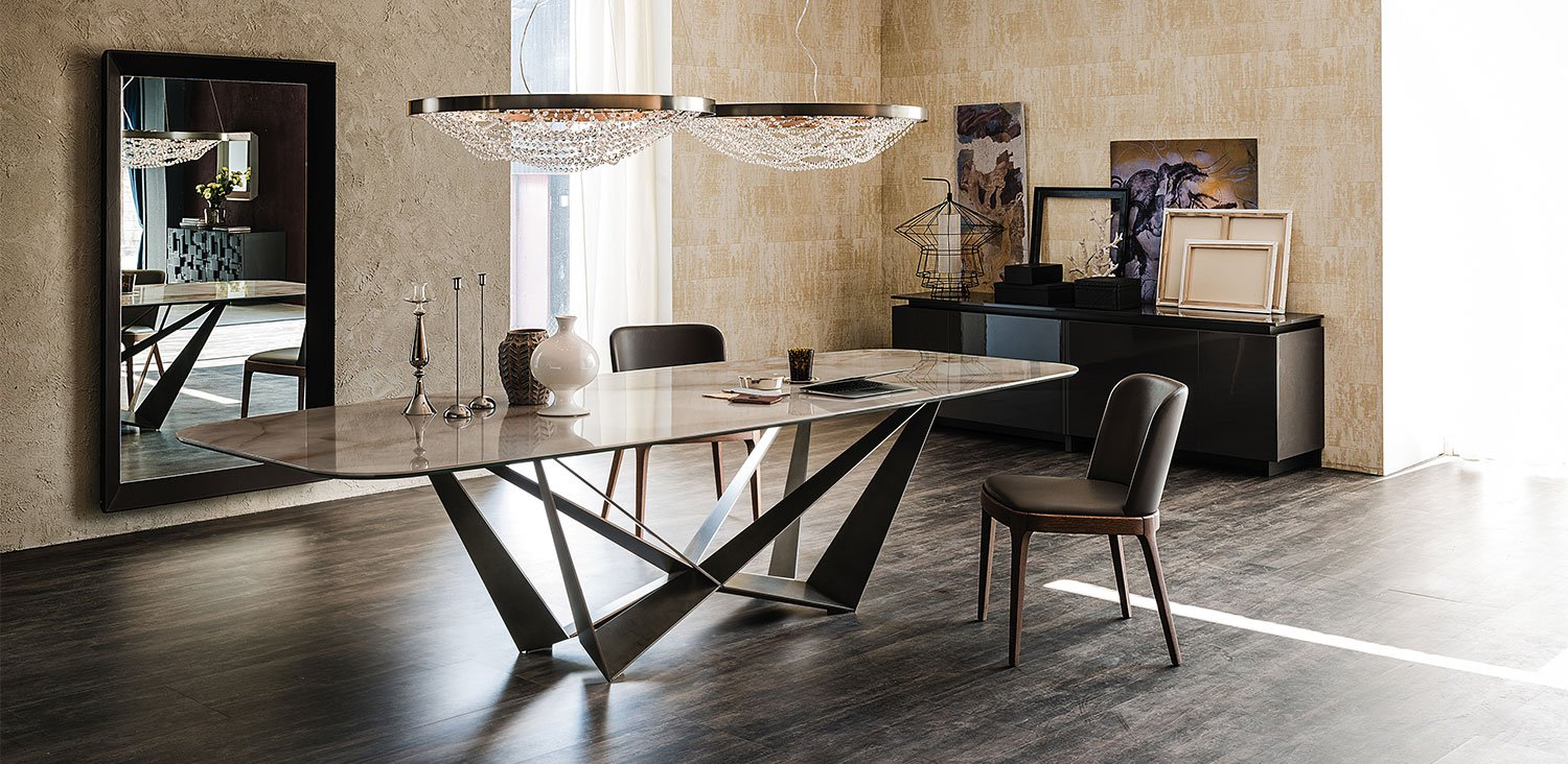 Skorpio Keramik Dining Table from Cattelan Italia