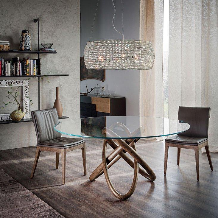 Carioca, dining table from Cattelan Italia