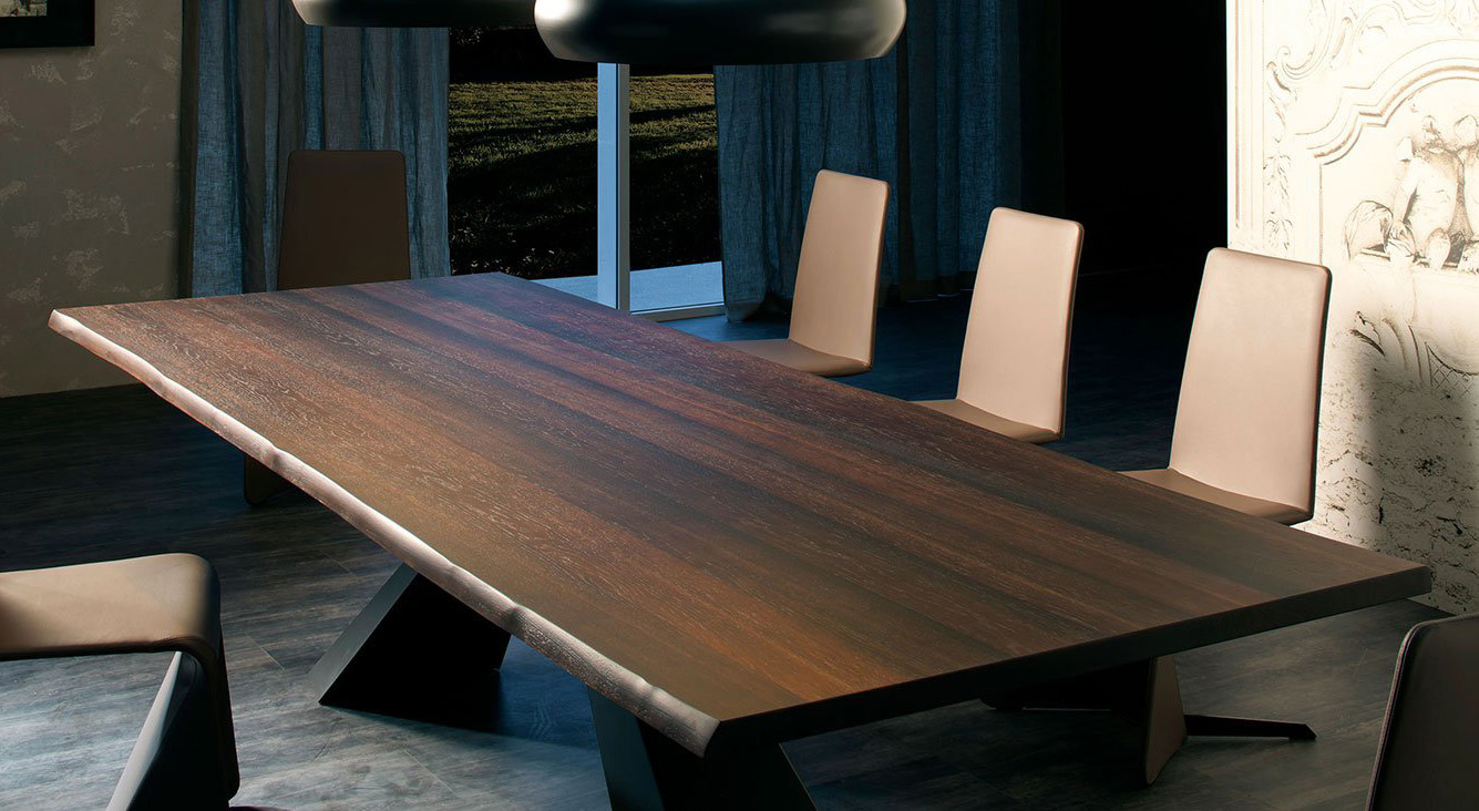 Eliot Wood Dining Table from Cattelan Italia