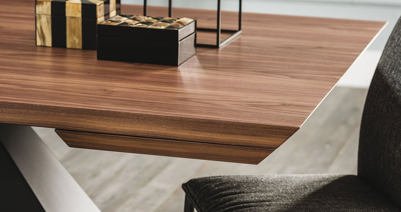 Eliot Wood Drive Extendable Dining Table from Cattelan Italia
