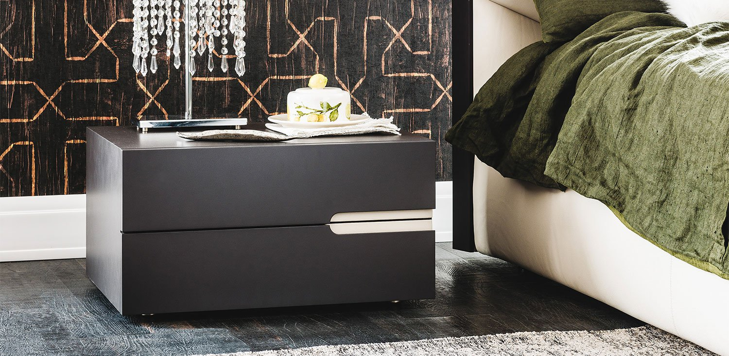 Ciro Nightstand end table from Cattelan Italia