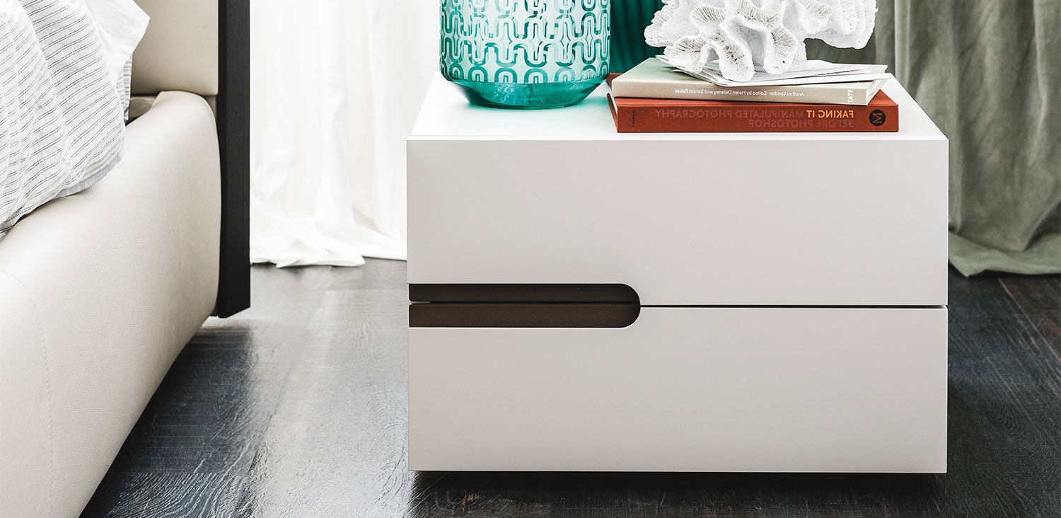 Ciro Nightstand, end table from Cattelan Italia