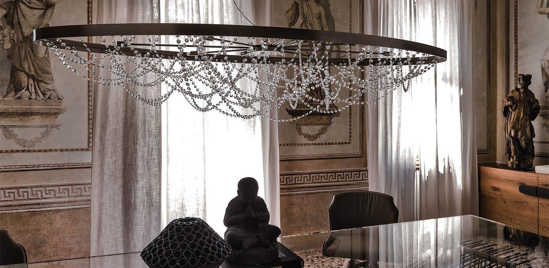 Cristal Ceiling Lamp lighting from Cattelan Italia