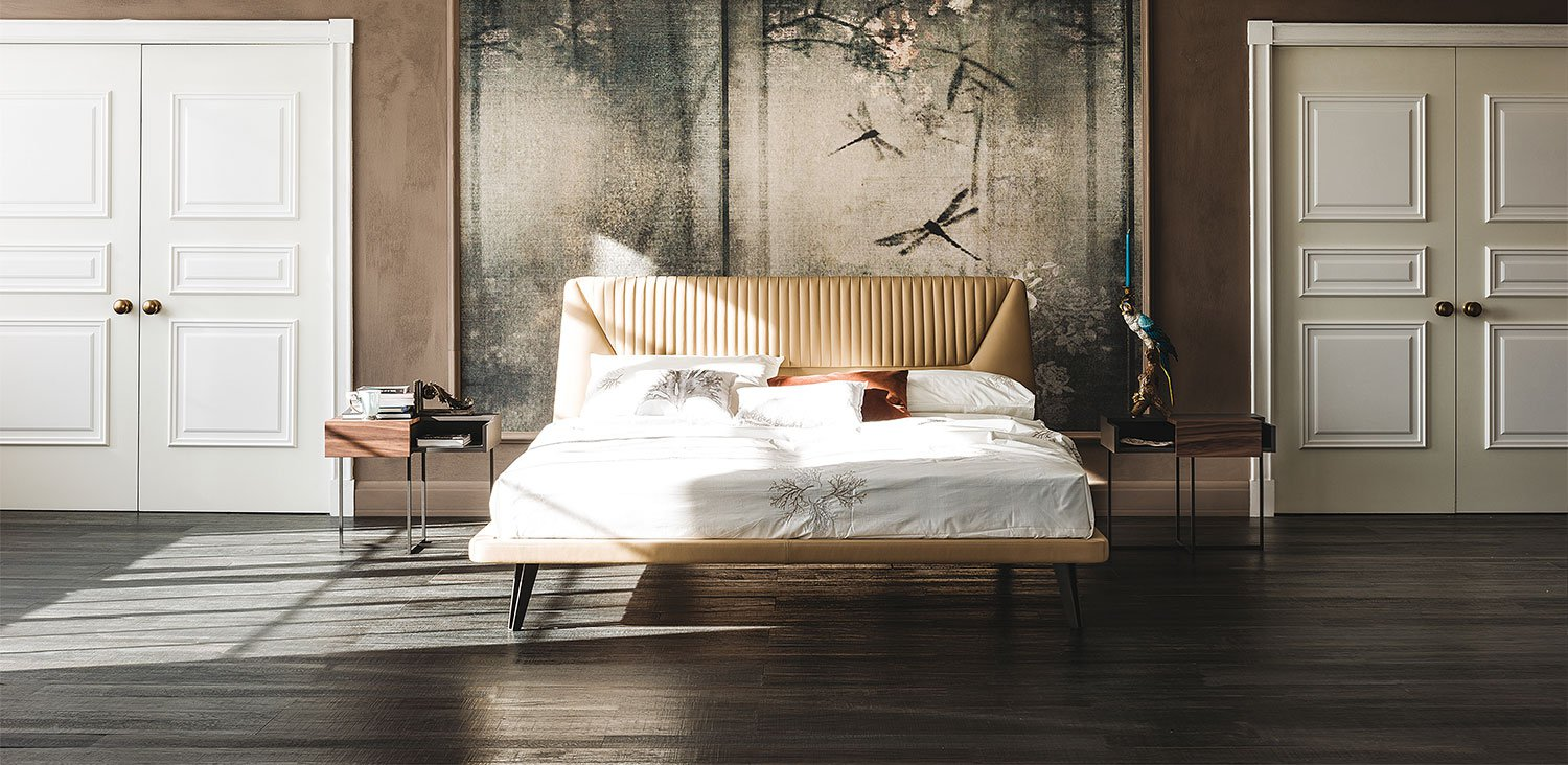 Amadeus, bed from Cattelan Italia