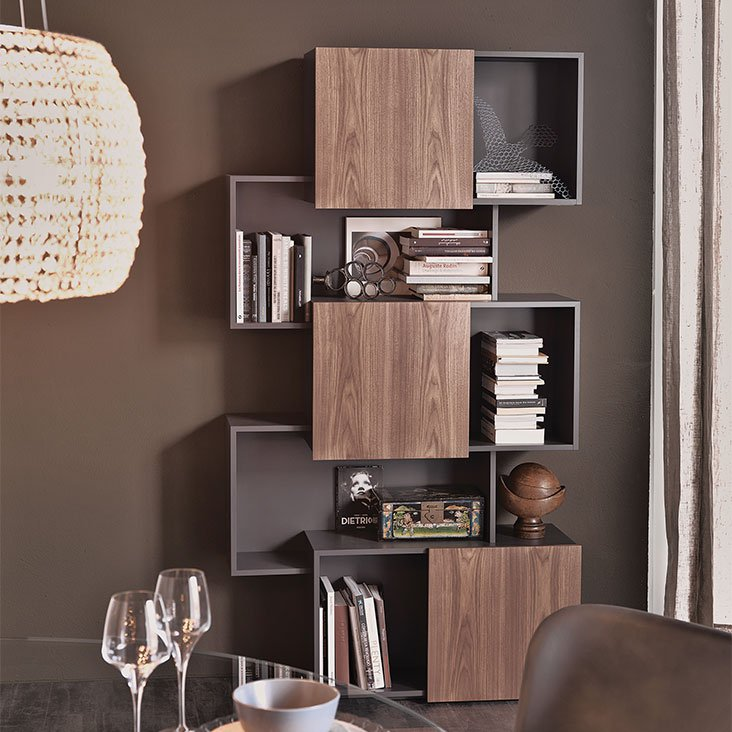 Piquant Bookcase from Cattelan Italia
