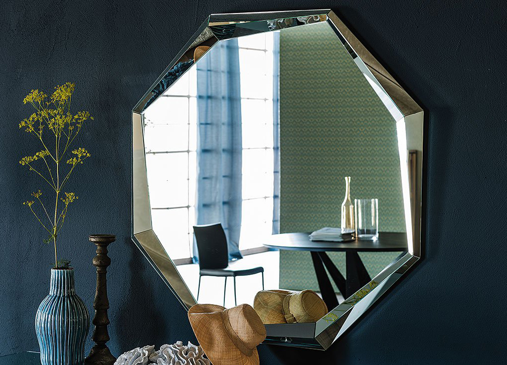 Emerald Wall Mirror from Cattelan Italia