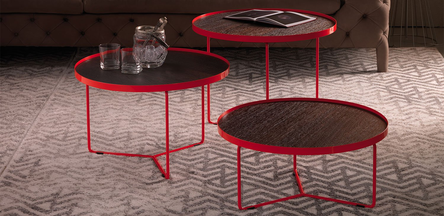 Billy Wood Coffee Table end from Cattelan Italia