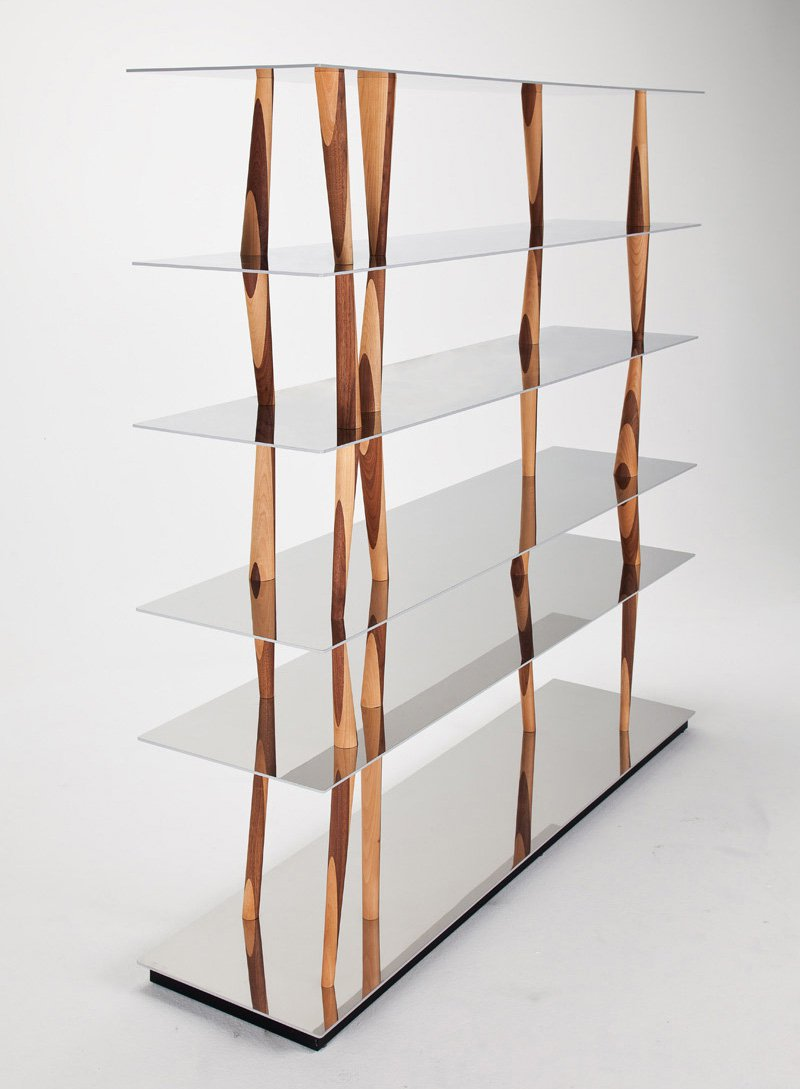 Sendai bookcase from Horm