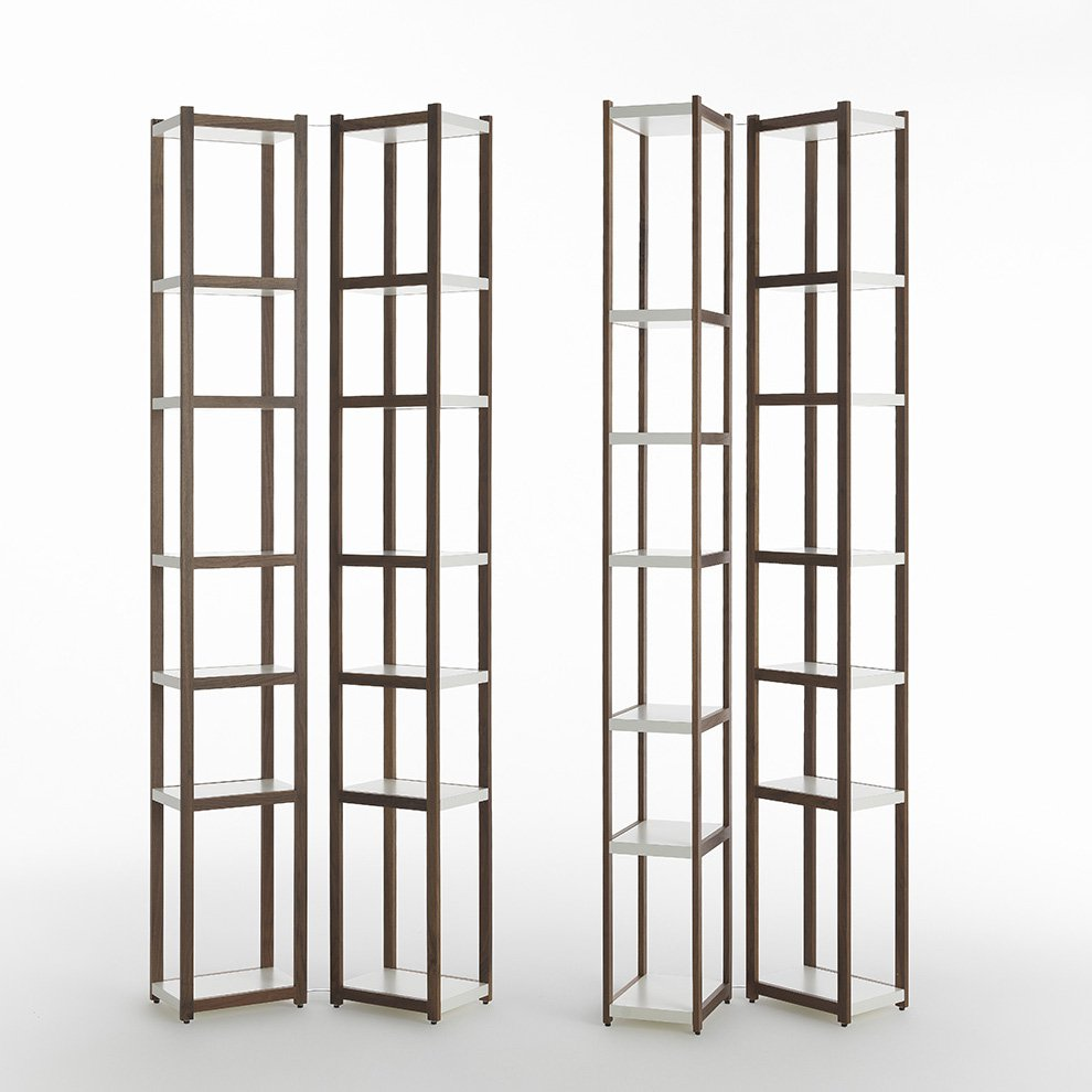 Singles bookcase from Horm, designed by Carlo Cumini