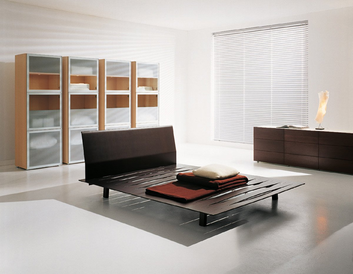 Sottiletto bed from Horm, designed by Burtscher & Bertolini