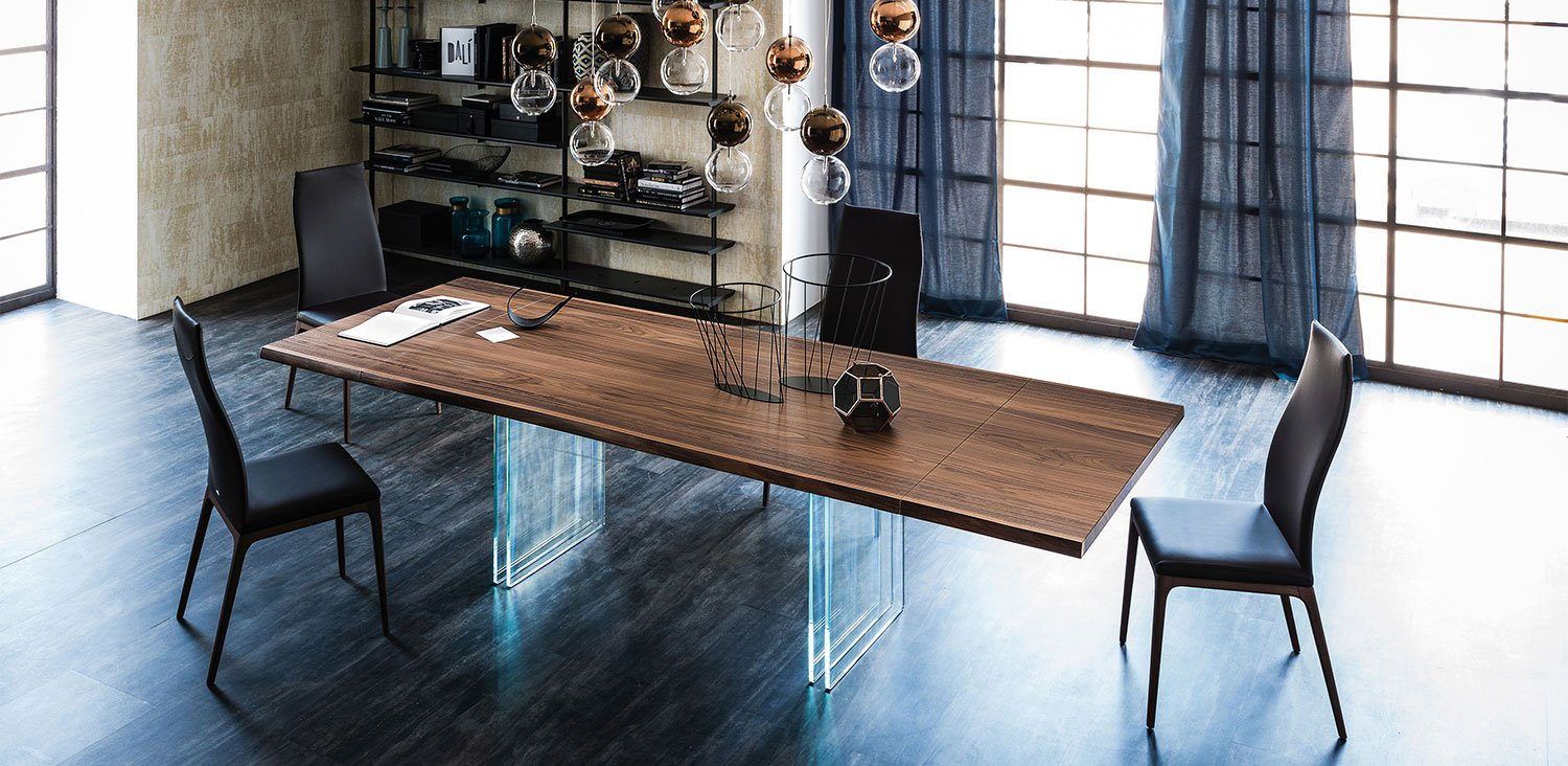 Ikon Drive Extendable Dining Table from Cattelan Italia